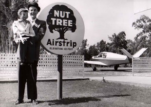 Original Nut Tree Sign