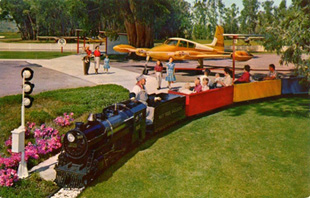Plane and Nut Tree Train